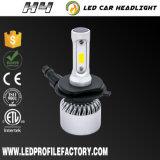 H4 indicatore luminoso capo dell'automobile LED, faro del T1 Fanless LED, M4 faro dell'automobile LED