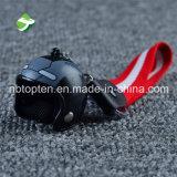 3D 형식 기관자전차 헬멧 열쇠 고리