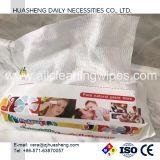 Toalhas 100% secas de rayon não tecido dos Wipes secos