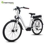 Bike города повелительницы электрический с средний мотором привода