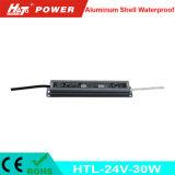24V 1A는 세륨 RoHS Htl 시리즈를 가진 LED 전력 공급을 방수 처리한다