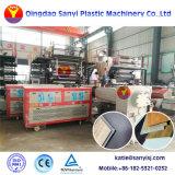 Plancher recouvert de vinyle PVC SPC de ligne de production/de calandrage Machine avec Cliquez sur Système