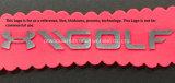 Personnaliser le logo de transfert de chaleur en silicone pour accessoires