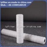 5 filtro da acqua materiale della ferita del collegare del filtrante del micron pp per industria chimica
