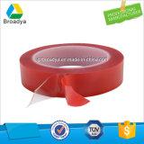빨간 필름 강선 두 배는 아크릴 거품 테이프 윤이 나기를 위한 편들었다 (BY5064B)