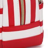 しまのある構成袋の洗面用品の女性袋の小型装飾的な袋