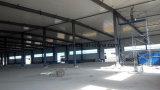 Vertiente de acero Finished de drenaje vertida almacenaje de la casa prefabricada del departamento de la estructura de acero