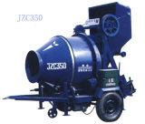 円錐反転ドラムコンクリートミキサ (JZC350)