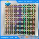 Custom Print 3D Tamper-Proof синий Голографическая наклейка
