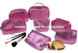 多くの様式金属PUの鉛筆の構成のキャリアの箱の化粧品の袋