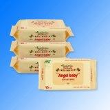 Comercio al por mayor de vitamina E las toallitas húmedas de bebé bebé tejidos orgánicos