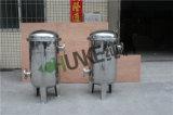 10T-100t de tratamiento de agua de la brida de la caja del filtro de la bolsa de SS304