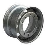 Передовая технология для того чтобы произвести колесо тележки хорошего качества стальное снабжает ободком 22.5X8.25 22.5X9.00