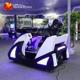 La parte superior la venta de máquinas de juego 4D simulador de conducción arcade de conducción de coche