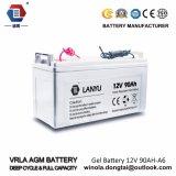 La valvola dei sistemi solari delle batterie del comitato solare ha regolato acido al piombo sigillato 90ah 12V