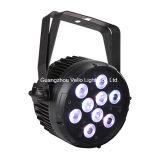 당과 결혼식 (LED EIF Colorpar9 4in1)를 위한 Vello RGBW LED Parcan 단계 빛