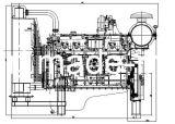 6本のシリンダーディーゼル機関、エンジン力、発電機のためのディーゼル機関
