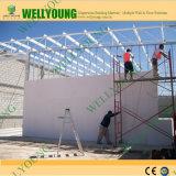 Haus-Aufbau-Fertigstellung MgO-Vorstand-Wand