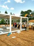 Casa prefabricada/modular/móvil/de la casa prefabricada/del Portable/del envase del acero ligero comercial de la ISO