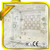 Fachada moderada porta colorida do vidro laminado do banheiro da segurança com Ce/ISO9001/GV/CCC (WH-SY-X384)