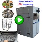 Industrielle Handelsfisch-Nahrungsmittelfrucht-Gemüse-trocknende Trockner-Geräten-Maschine