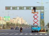Señal de tráfico galvanizada de la INMERSIÓN caliente postes