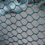小さい穴の金網の網、六角形の金網、塀の網