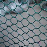 Engranzamento de fio pequeno da galinha do furo, engranzamento de fio sextavado, rede da cerca