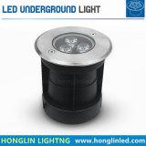 Indicatore luminoso sotterraneo esterno del percorso LED del cortile di illuminazione 12W di paesaggio