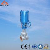 압축 공기를 넣은 플랜지가 붙은 게이트 밸브 (GAZ641H)