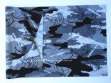 Ski Bandana van de Polyester Microfiber van het Af:drukken van het Ontwerp van de fabriek de Opbrengst Aangepaste Zwarte