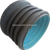 Populäres HDPE doppel-wandiges gewölbtes Rohr