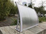 Kundenspezifischer Größen-Tür-Fenster-Schwarz-Halter für im Freienpolycarbonat-Kabinendach (800-B)