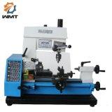 AT125 3 in 1 tornio combinato di hobby per la macchina per il taglio di metalli con lo standard del CE