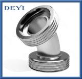 Aço inoxidável 45&deg higiênico; Cotovelo de rosqueamento masculino da tubulação