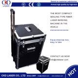 машина лазера маркировки запечатывания 20W 30W с автоматической дверью