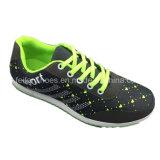 El deporte ocasional de las muchachas de los niños calza los zapatos atléticos de la zapatilla de deporte (ZJ923-4)