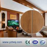 De binnen Tegels van het Plafond van pvc van de Decoratie met Twee Groeven
