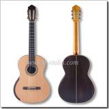 """[Winzz] 39"""" Concerto Smallman artesanal de guitarra clássica do Lado Esquerdo"""