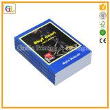高いQaulityの薄紙表紙の本の印刷サービス(OEM-GL001)