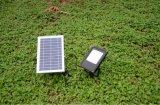 Poupança de energia solar de LED Holofotes, projeto exterior do farol de luz