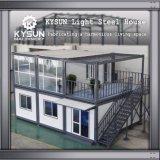 Prefabricados personalizado 2 Recipiente de piso House para escritórios temporários