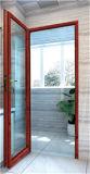 Дверь Casement двери ливня высокого качества алюминиевая
