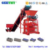 Máquina formadora de bloco Qtj4-35 concreto sólido bloco de cimento Preço da Máquina