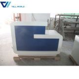 Artificial Stone powerplant Office Reception Desk/information Counter/front Desk