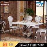 屋外の家具のステンレス鋼のダイニングテーブル