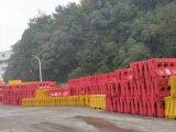 barrières en plastique remplies d'eau d'inondation de 1500*800mm Red&White New Jersey