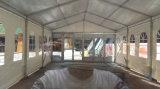 ガラス壁の屋外の結婚披露宴のイベントの装飾のライニングのテント