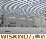 Estructura de acero de fábrica y almacén de construcción