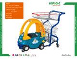 Supermarktkiddie-Einkaufswagen-Kind-kaufenlaufkatze mit iPad